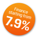 Finance starting from 7.9%