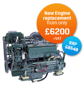 New Engine replacement from only £55